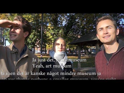 Tiếng Thụy Điển bài 21: Những cuộc phỏng vấn tại Stockholm