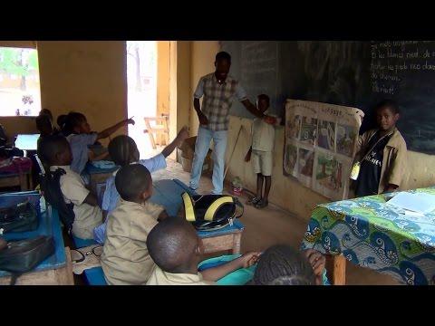 """École Primaire Salésien """"Soundiata Keita"""" Saint Alexis (Guinée Conakry) - Cours 2014-15"""