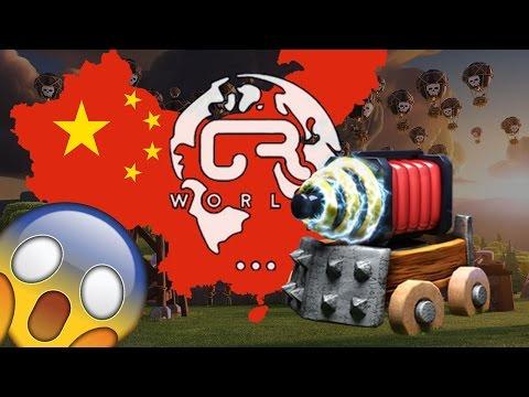 ¡ ¡ ¡ CR WORLDS: LOS CHINOS TRAEN A CHISPITAS ! ! ! - KManuS88 - Clash Royale