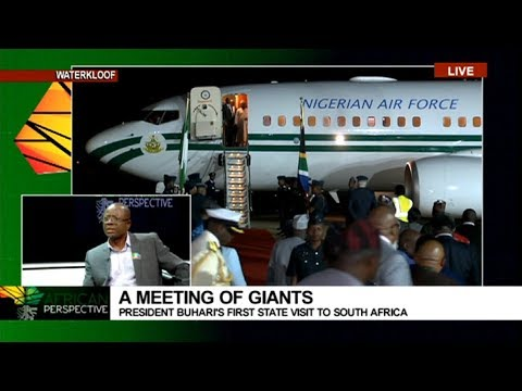African Perspective: Nigerian President Buhari arrives in SA