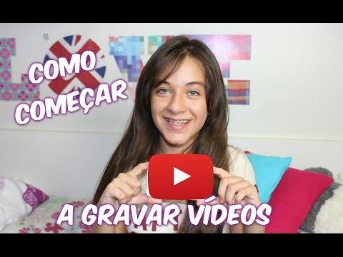 Como Gravar videos Youtube - Carol Santina