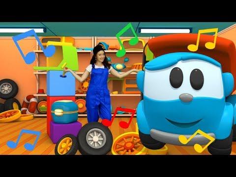 Canzoni per bambini: Leo il camion e la canzoncina dei mestieri! Cosa diventare da grande?