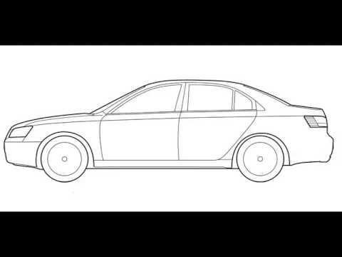 تعلم رسم سيارة خطو بخطو Youtube