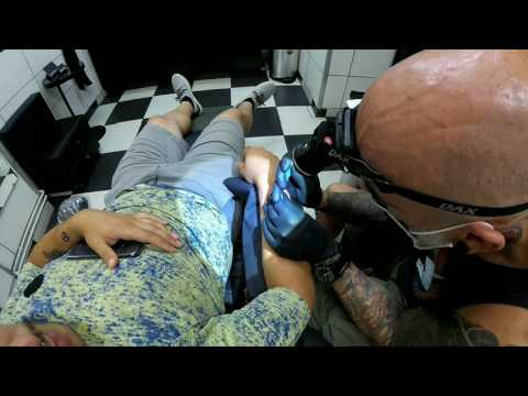 Arm microdermal - Dirty Roses Tattoo Studio - Thessaloniki - Greece (1080p)