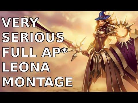 Tuyển tập Leona full AP - Sức mạnh tối thượng từ ánh sáng mặt trời