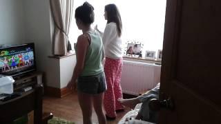 chloe thomas and chloe hemp dancing