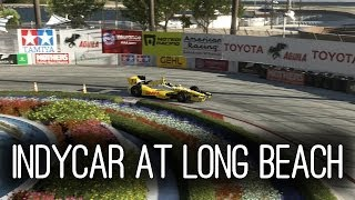 Forza 5 Long Beach in an Indycar - Onboard and Replay