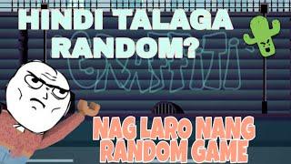 Maglalaro nang random game sa roblox (hindi talaga random)