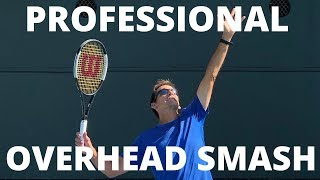 Learn To Play Your Overhead Like A Pro- Tennis Overhead Smash