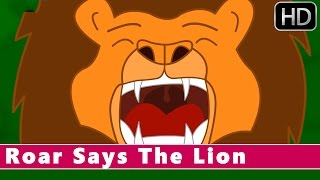 Roar Says The Lion | Nursery Rhymes for Children