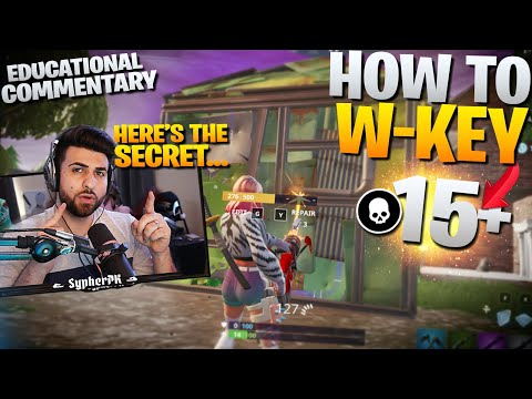 "HOW TO WIN | How to ""W Key"" Effectively (Fortnite Battle Royale - Educational Commentary)"
