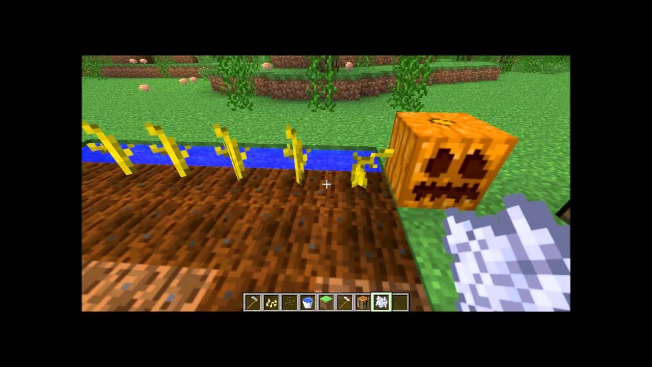 minecraft feld anbauen