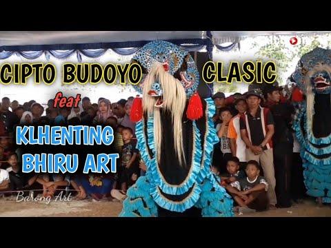Solah Rampok Barong Jaranan Cipto Budoyo Feat Khlenting Biru Art // SMPN 1 JETIS PONOROGO