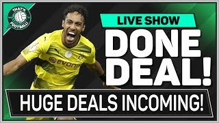 AUBAMEYANG To ARSENAL! Andy CARROLL To CHELSEA! TRANSFER NEWS UPDATE