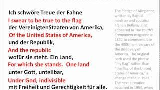 Pledge of Allegiance in German - www.germanforspalding.org