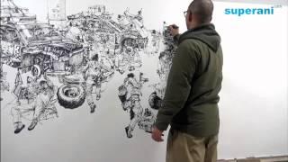 김정기 Kim Jung gi Drawing show in 포항
