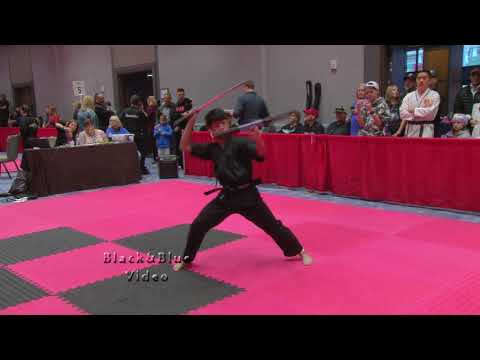 Extreme Sword Kata At 2019 Diamond Nationals Karate Tournament