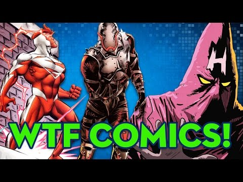 Top 10 Weirdest Comic Book Characters