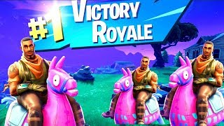 LLAMA GANG! - DESTROY THE BOTS - FUNNY MOMENTS COMPILATION - FORTNITE BATTLE ROYALE - LBJ's Cafe