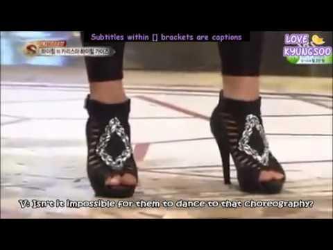 Bts V with high heels