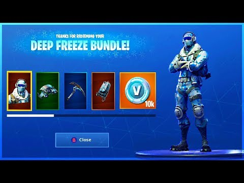 I GOT DEEP FREEZE BUNDLE and HOW TO GET IT in Fortnite Battle Royale! thumbnail