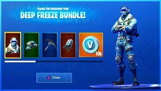 I GOT DEEP FREEZE BUNDLE and HOW TO GET IT in Fortnite Battle Royale!