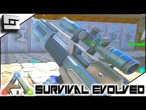 ARK: Survival Evolved - MASTERCRAFT SNIPER RIFLE! S3E65 ( Gameplay )