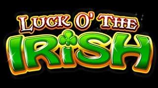 Luck O the Irish Power Spins £500 Jackpot Slot Machine