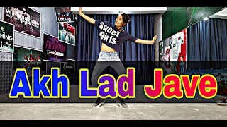 Akh Lad Jave Super hit Dance | 🔥Viral video 🔥| by Himani from | Amit Kumat Dance Studio |