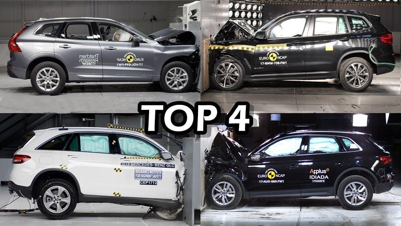 Top 4 Suv With Best Crash Test 2018 5 Stars Euro Ncap