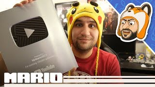 100K Subscriber Silver Play Button Unboxing + Q&A!