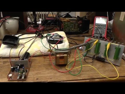Power Supply Filter Capacitor in an Audio Amplifier