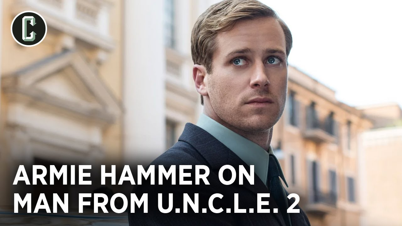 Man from UNCLE 2: Armie Hammer Makes Some Fanfic Promises