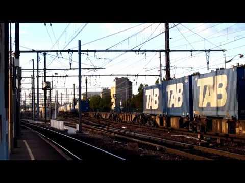 15 minutes à Villeneuve Saint Georges (94) : 5 trains fret