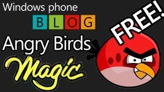 Angry Birds Magic для Windows phone 7, 8 скачать бесплатно.