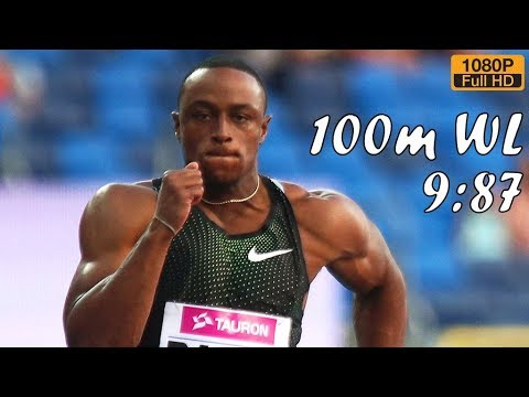 Ronnie Baker wins 100m at Kamila Skolimowska Memorial 2018