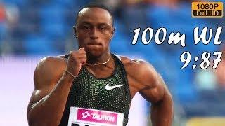 Ronnie Baker wins 100m at Kamila Skolimowska Memorial 2018