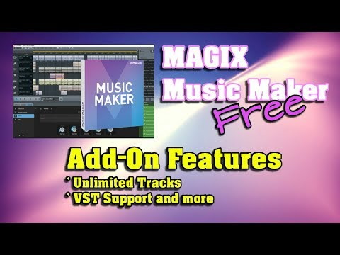 MAGIX Music Maker FREE 2017 - Add-On Features