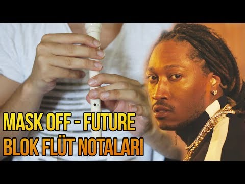 Mask Off (Future) - On the Recorder (Notes)