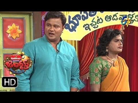 Bullet Bhaskar, Sunami SudhakarPerformance  Jabardasth   4th January 2018   ETV  Telugu