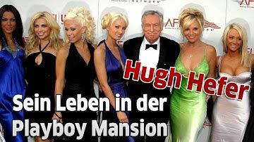 Playboy-Grüner: Das Leben von Hugh Hefner in der Playboy Mansion in Beverly Hills