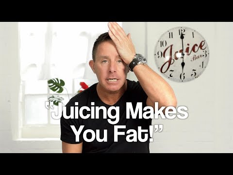 Jason On His Juice Box #3 - Juicing Makes You Fat!