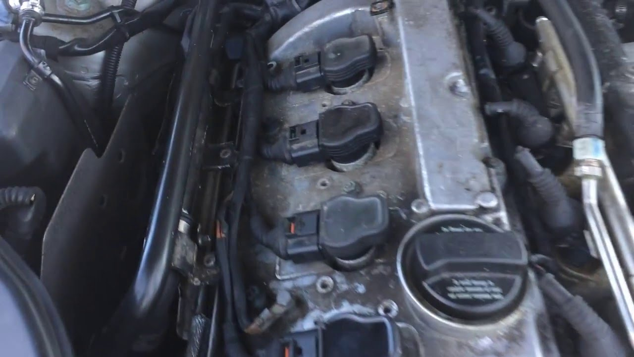 audi a4 1 8 2000 2006 mass airflow sensor removal youtube rh youtube com Audi A4 Service Manual Bentley 2001 Audi A4 1.8T