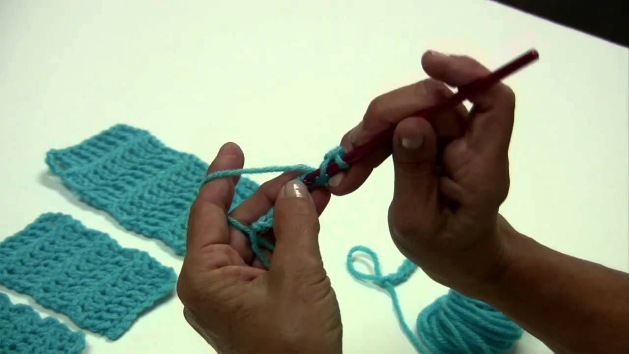 Learn To Crochet 5 Basic Crochet Stitches By Red Heart With