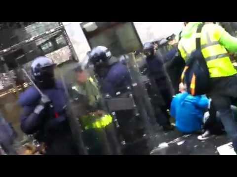 """peaceful prosest"" gone wrong in Dublin"
