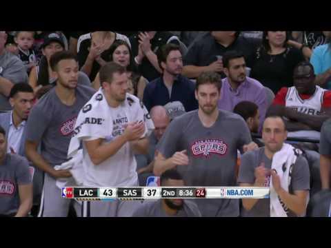 Los Angeles Clippers vs San Antonio Spurs | November 5, 2016 | NBA 2016-17 Season