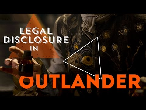 Outlander analysis | Legal Disclosure Registry Book of Life Exchequer Lucifer eye Big Pharma codes