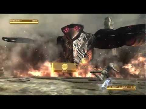 Metal Gear Rising: MG Ray Boss Fight (S Rank) HD