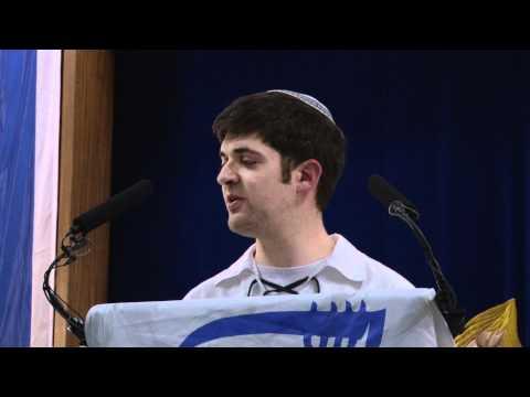 Bnei Akiva Mazkir Alex Cohen - Yom Hazikaron And Yom Ha'atzmaut 2012