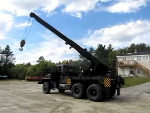 Military Wrecker For Sale >> 1952 M62 5 Ton Military Wrecker for Sale atthe.com - YouTube
